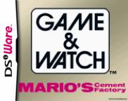 Game & Watch : Mario's Cement Factory (DSiWare)