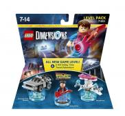 LEGO Dimensions - Retour vers le Futur Level Pack (71201)