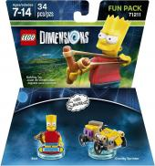 LEGO Dimensions - Bart ~ The Simpsons Fun Pack (71211)