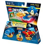 LEGO Dimensions - Sonic ~ Sonic The Hedgehog Level Pack (71244)