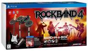 Rock Band 4 + Guitare sans fil + Batterie + Micro