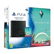 PS4 1To - Pack No Man's Sky (Jet Black)