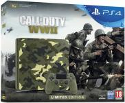 PS4 Slim 1To - Pack Call of Duty: WWII - Edition Camouflage Limited Edition