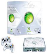 Xbox Crystal Transparante + 2 Manettes - Edition Limitée